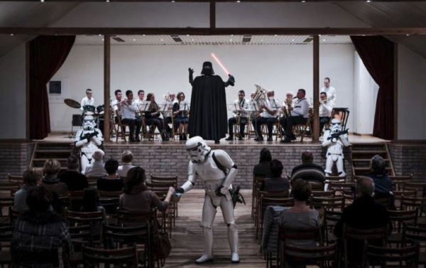 A very Vader concert