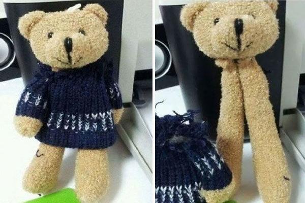 A weird bear