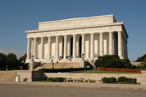 Lincoln Memorial, Washington. E.E.U.U.