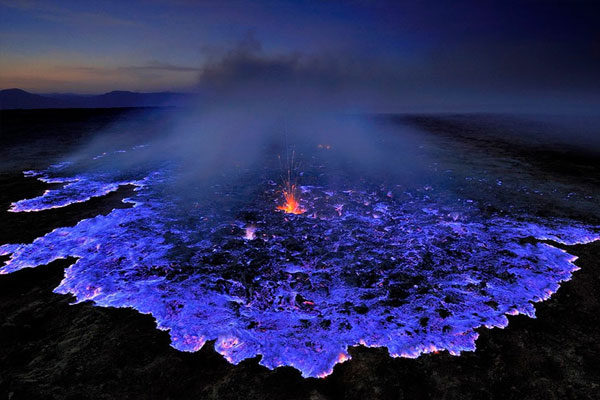 Blue Volcano, Ethiopia