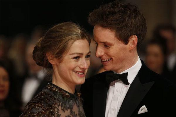 Eddie Redmayne and Hannah Bagshawe