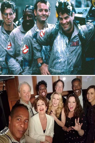 Ghostbusters. 1984-2016