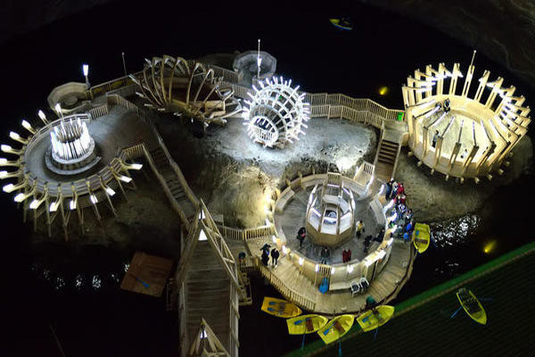 The Turda Salt Mine, Romania