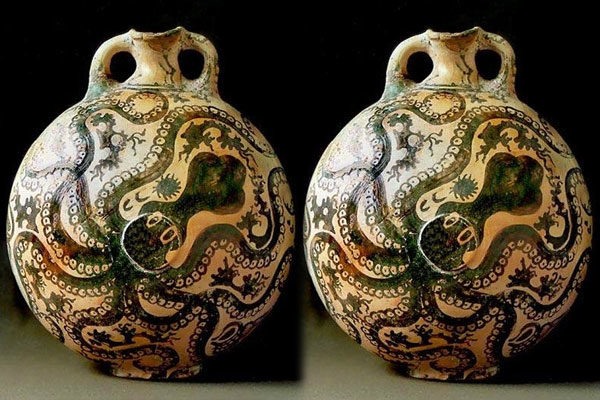 Minoan Octopus Jar