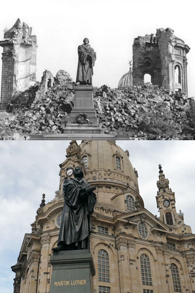 Martin Luther Statue, Dresden, Germany