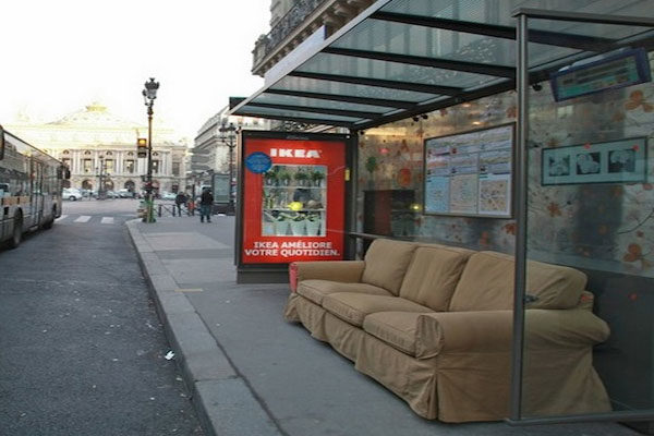 A comfy couch
