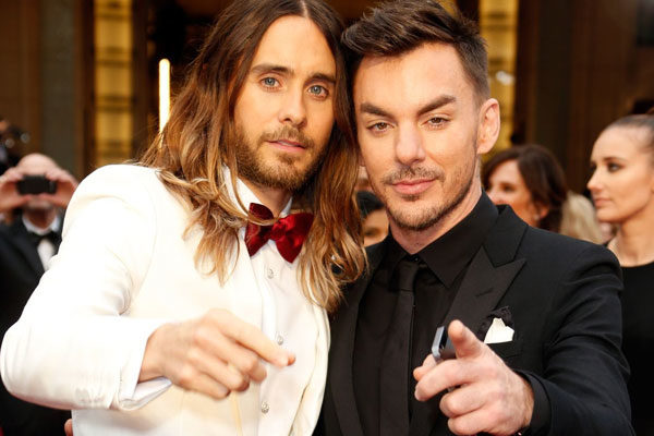 Jake and Shannon Leto