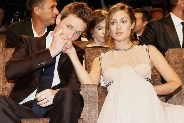 Eddie and Hannah Redmayne