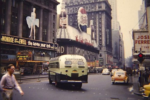 Times Square, 1955