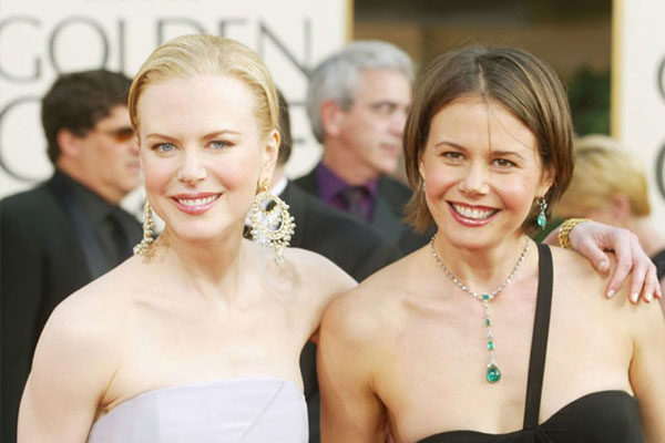 Nicole and Antonia Kidman