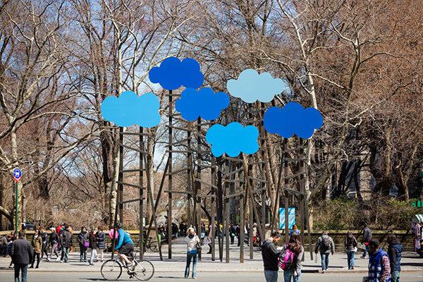 Clouds, Olaf Breuning