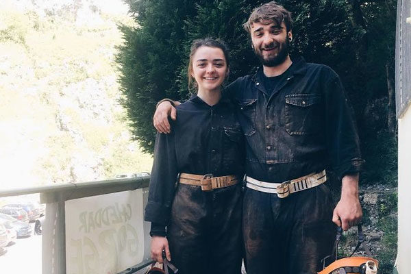 Maisie and James Williams