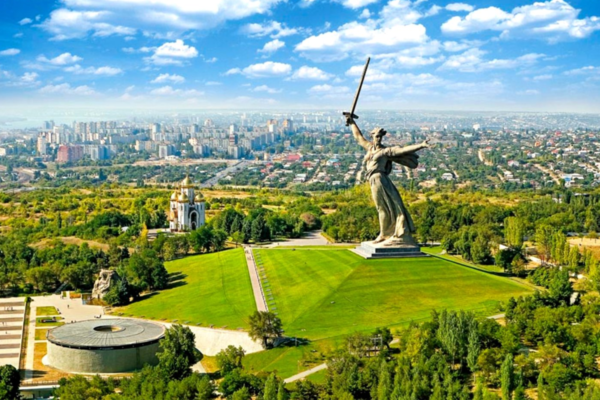 Volgograd, The Motherland Calls