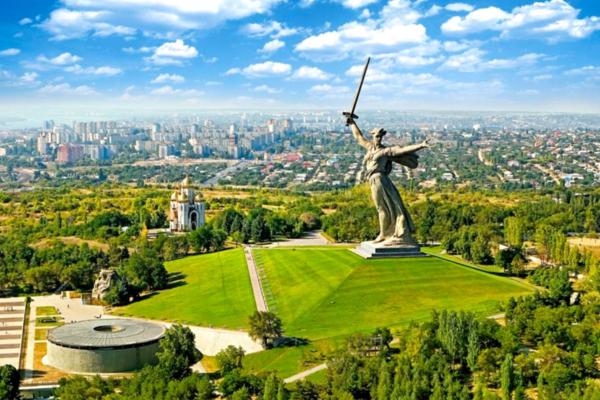 Volgograd, The Motherland Calls