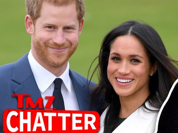 Does seems that the gossip site TMZ is in charge of the coverage of the wedding instead of the official royal site?