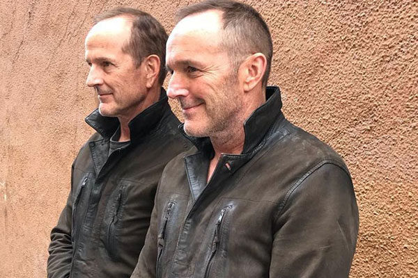 Clark Gregg and Dane Farwell