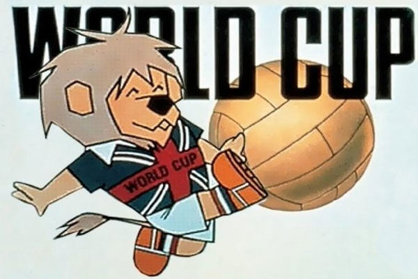World Cup Willie, England, 1966