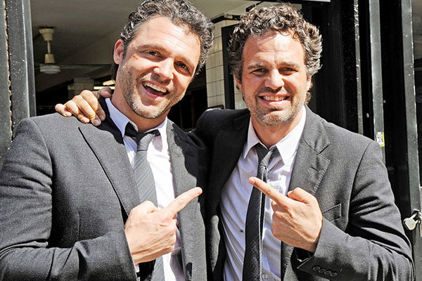Mark Ruffalo and Anthony Molinari